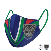 Load image into Gallery viewer, New Zealand Warriors Face Mask - The Mask Life.  Face Masks