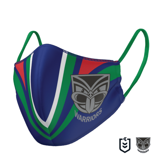 New Zealand Warriors Face Mask - The Mask Life.  Face Masks