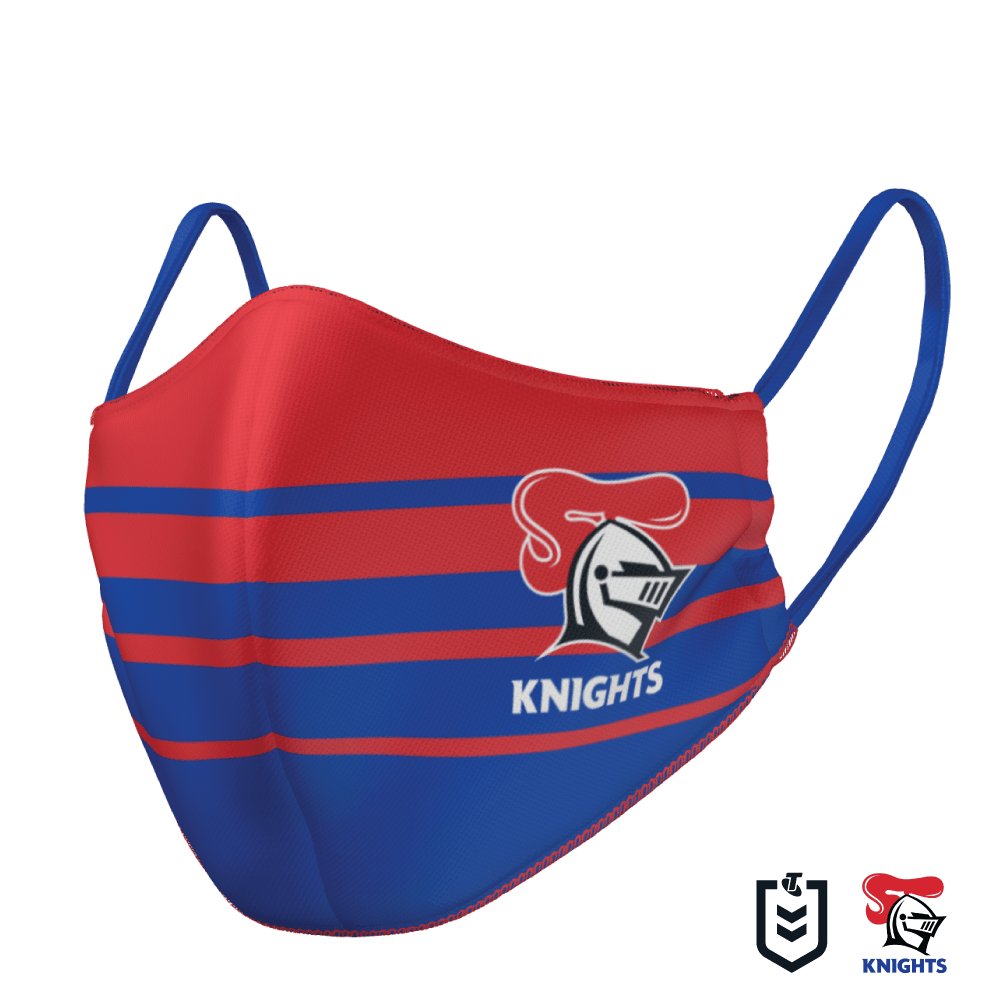 Newcastle Knights Face Mask - The Mask Life.  Face Masks