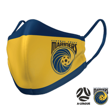 Load image into Gallery viewer, Central Coast Mariners Face Mask - The Mask Life.