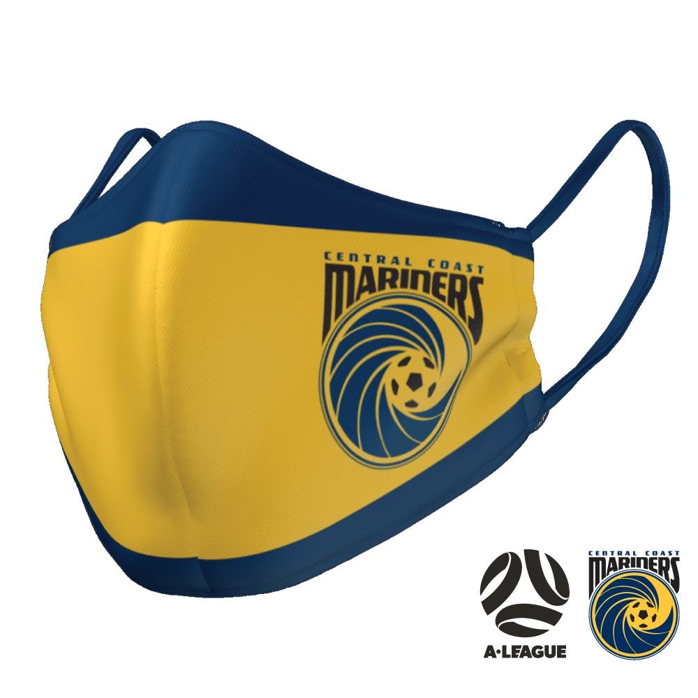 Central Coast Mariners Face Mask - The Mask Life.