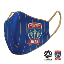 Load image into Gallery viewer, Newcastle Jets Face Mask - The Mask Life.