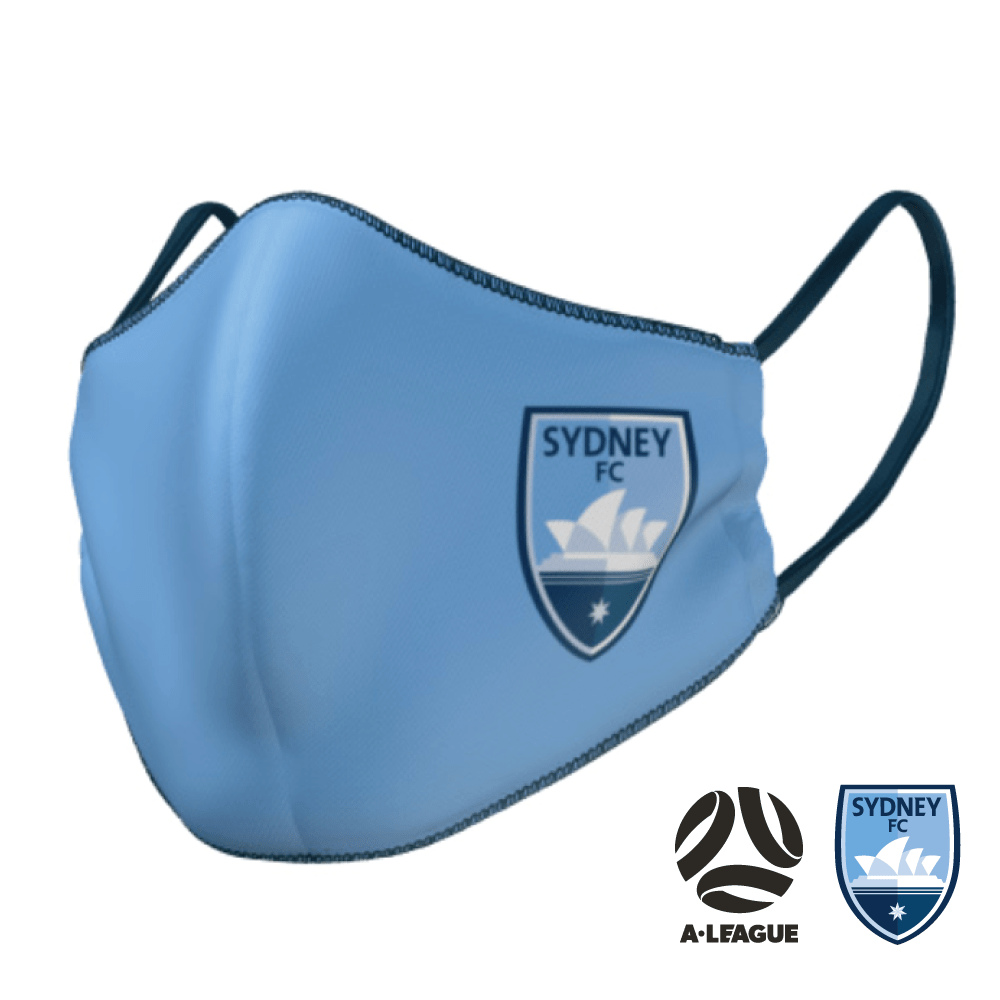 Sydney FC Face Mask - The Mask Life.