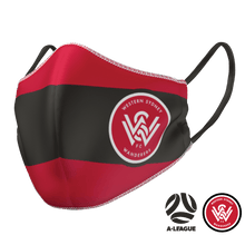 Load image into Gallery viewer, Western Sydney Wanderers Face Mask - The Mask Life.