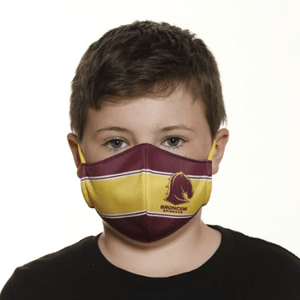 Brisbane Broncos Face Mask - The Mask Life.