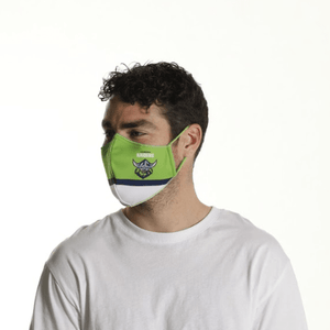 Canberra Raiders Face Mask - The Mask Life.