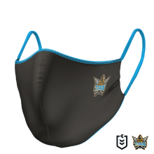 Load image into Gallery viewer, Gold Coast Titans Face Mask - The Mask Life.  Face Masks