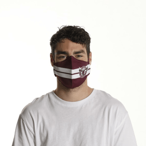 Manly Sea Eagles Face Mask - The Mask Life.
