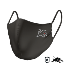 Load image into Gallery viewer, Penrith Panthers Face Mask - The Mask Life. Face Masks