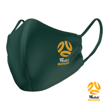 Load image into Gallery viewer, PRE ORDER - Socceroos & Matildas Face Mask - The Mask Life.
