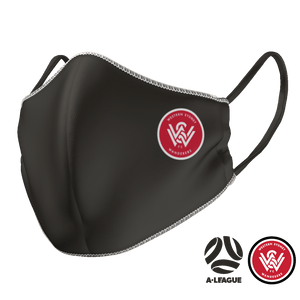 Western Sydney Wanderers Face Mask - The Mask Life.