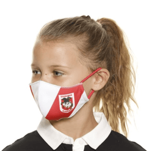 St George Illawarra Dragons Face Mask - The Mask Life.