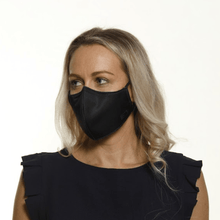 Load image into Gallery viewer, Bulk Pack - 5x - Black Face Mask - The Mask Life.
