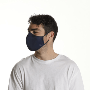 Bulk Pack - 3x Navy Face Masks - The Mask Life.