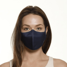 Load image into Gallery viewer, Bulk Pack - 3x Navy Face Masks - The Mask Life.