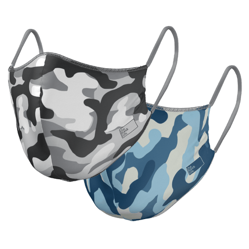 The Camo - Reversible Face Mask - The Mask Life.