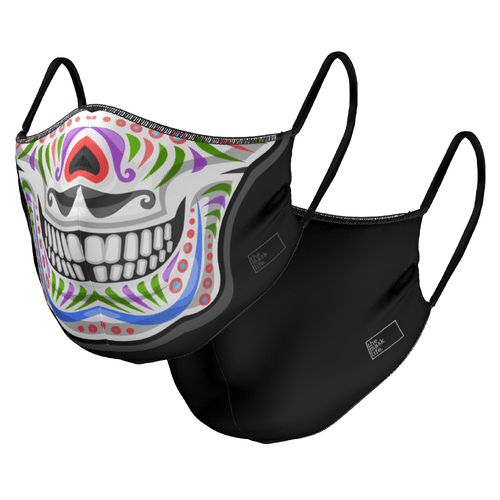 The Multi Skull - Reversible Face Mask - The Mask Life.