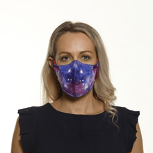 Load image into Gallery viewer, The Pink Galaxy - Reversible Face Mask - The Mask Life.