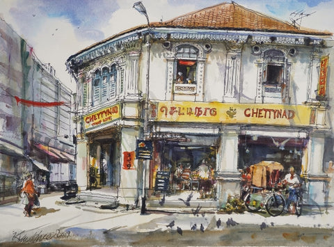 Chettynad Curry Palace at Little India Singapore