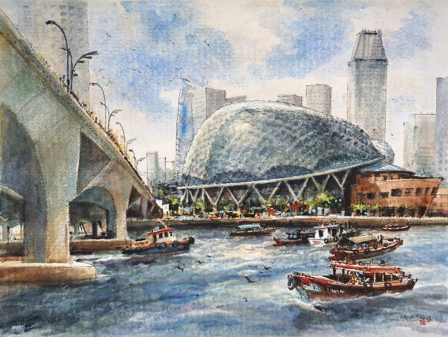 Esplanade by the Singapore River