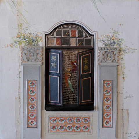 "Peranakan Window, ""Heritage Collections"" - Mohd Sultan, Singapore"