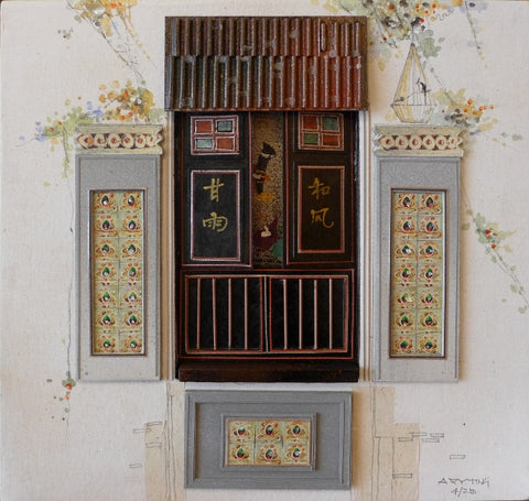 "Peranakan Window, ""Heritage Collections"" - Lavender street, Singapore"