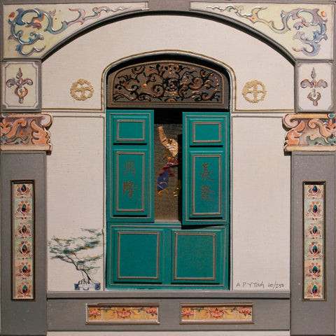 "Peranakan Window, ""Heritage Collections"" - Syed Alwi Road"