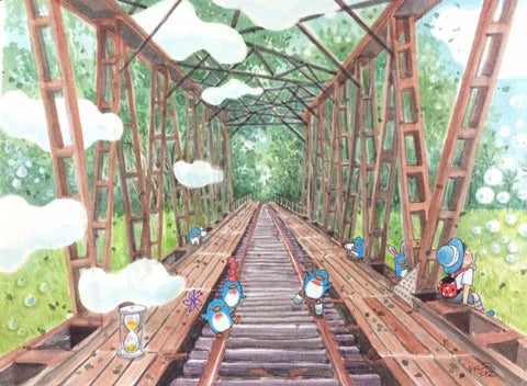 A Day Dream at the Bukit Timah Railway