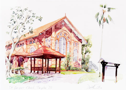 St Georges Church, Tanglin, Singapore '98