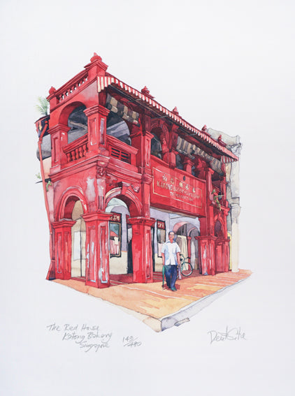 The Red House Katong Bakery Singapore