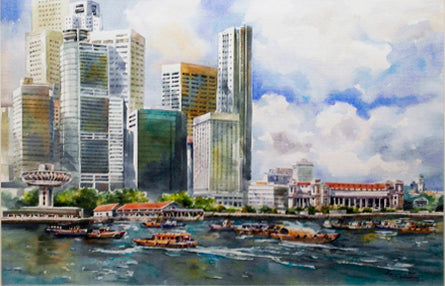 The Singapore Waterfront 2003