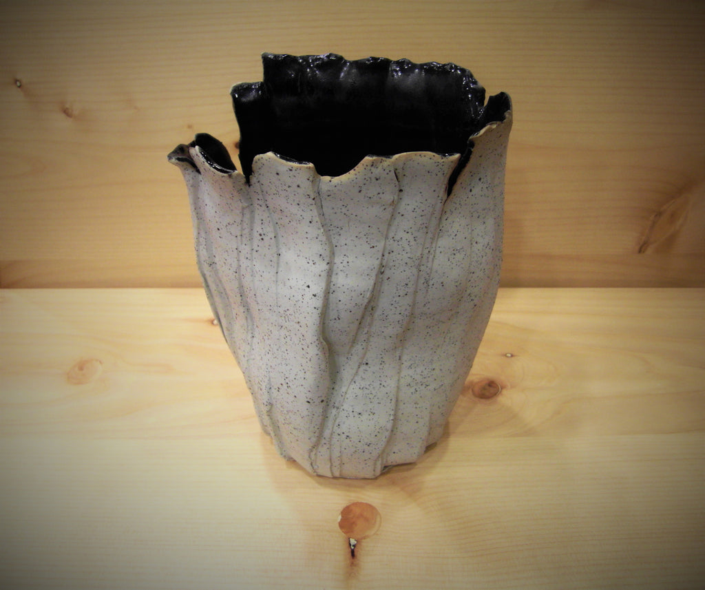 Treble & Clef (2) - Mottled Pots (With black hue inside)