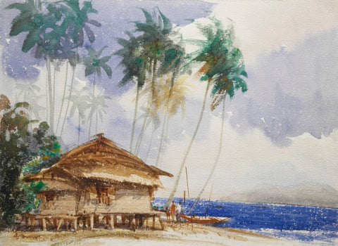 Nostalgic Seascape of Singapore - Beautiful Stilted Homes in the 50s (III)