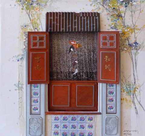"Peranakan Window, ""Heritage Collections"" - Mohd Sultan Road, Singapoire"
