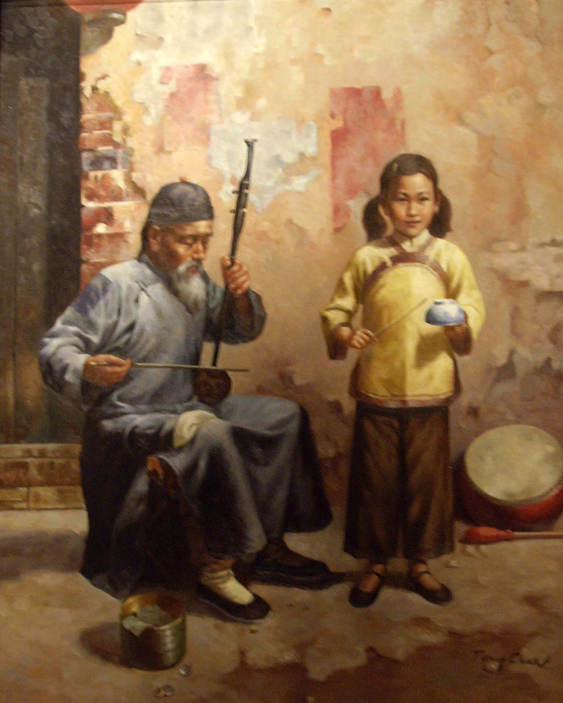 Playing The Erhu with Grandpa