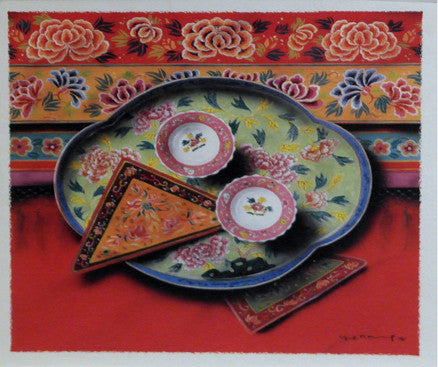 Peranakan Series - Health and Happiness (YN1449C)