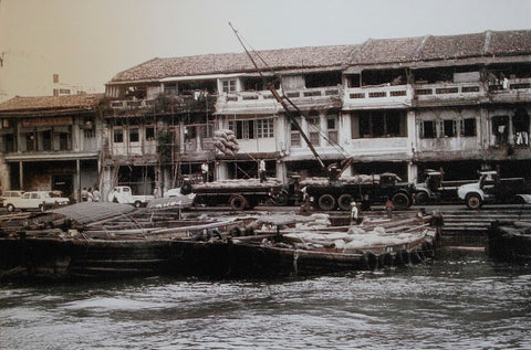 Boat Quay and the Singapore River