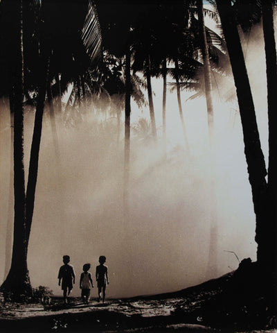 Children under Trees