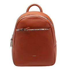 VALENTINA COGNAC cow leather backpack