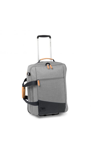 TROLLEY CABINA SOFT 55/20 CM ADVENTURE GRIGIO