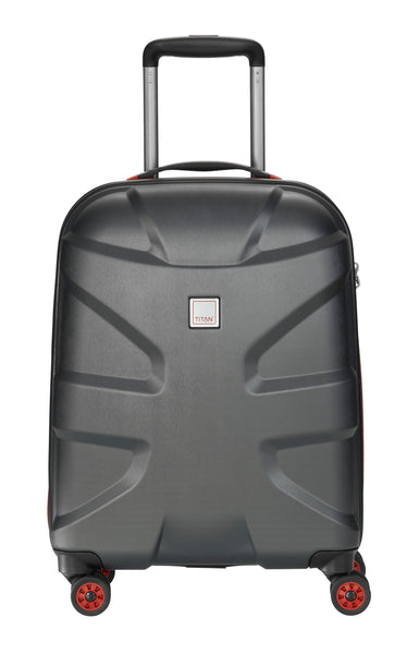 X2 4W TROLLEY S, BLACK BRUSHED