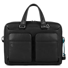 "10.5""/9.7"" laptop and iPad® slim bag with two handles, CONNEQU avail."