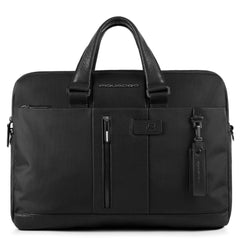 "10.5""/9.7"" laptop/iPad® two-handle briefcase, ready for CONNEQU and RFID anti-fraud device"