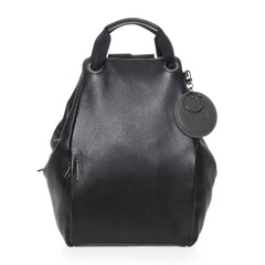 MELLOW LEATHER TRACOLLA / NERO