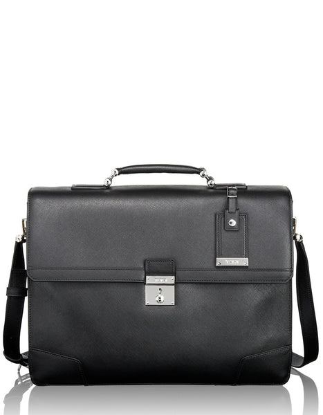 Dorilton Slim Flap Leather Brief