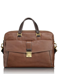 Chestnut large laptop brief