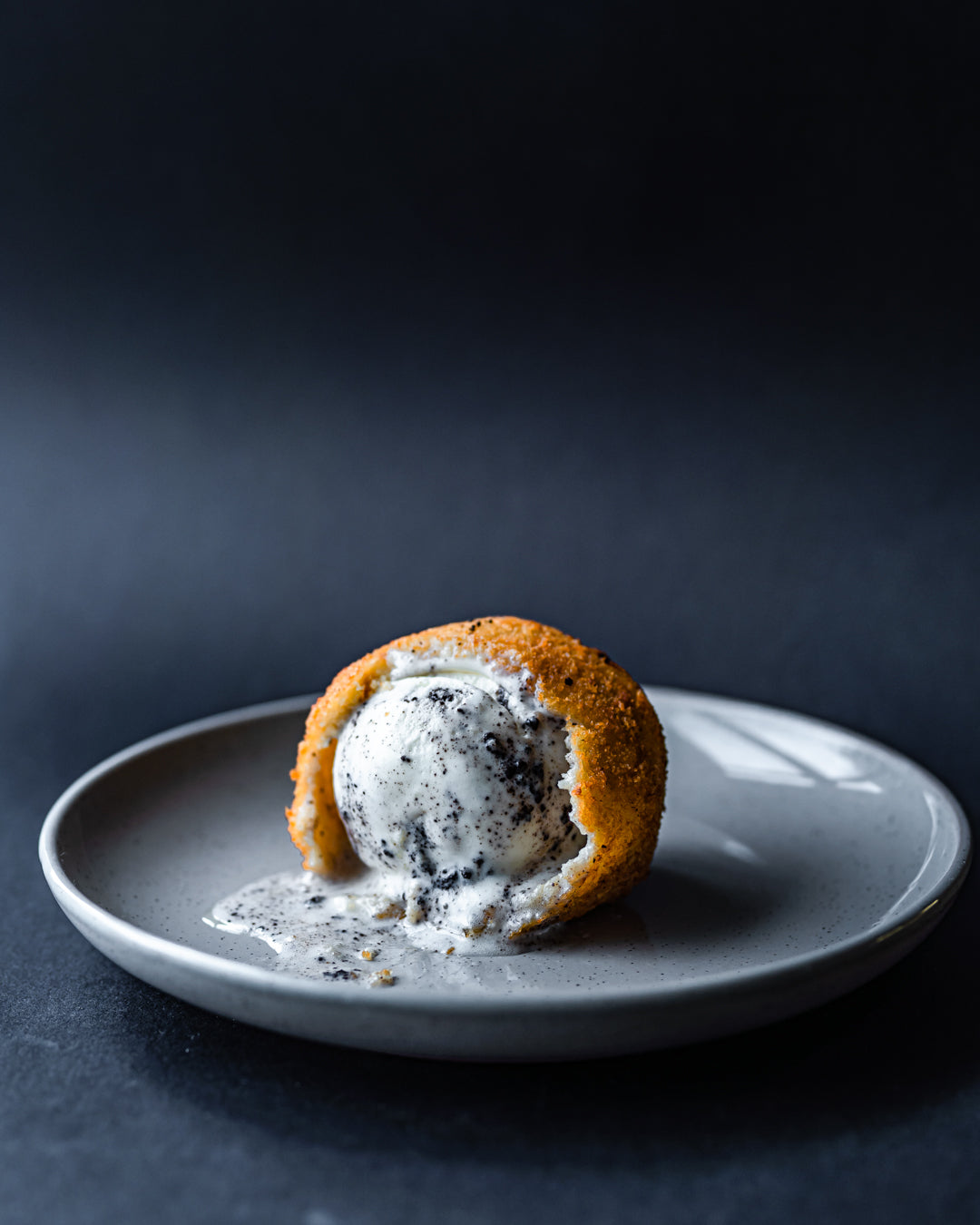 Cookies & cream fried ice cream