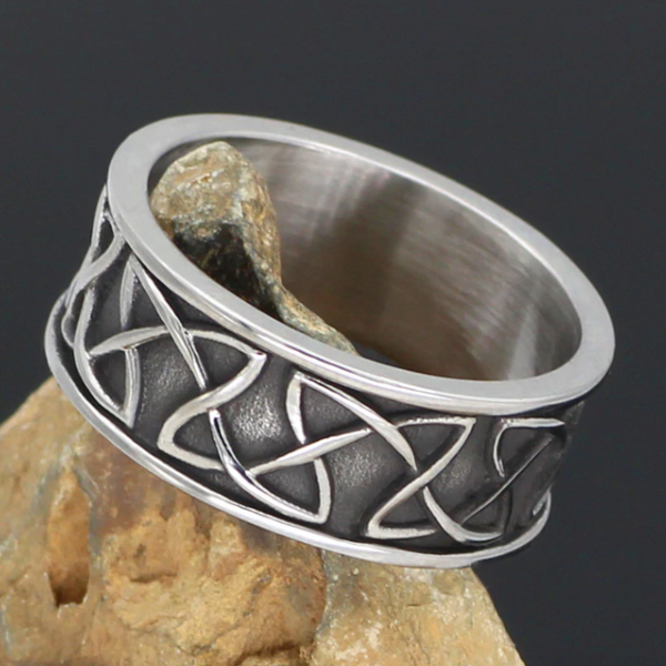 BAGUE MOTIF CELTIQUE - Medieval Fantasy