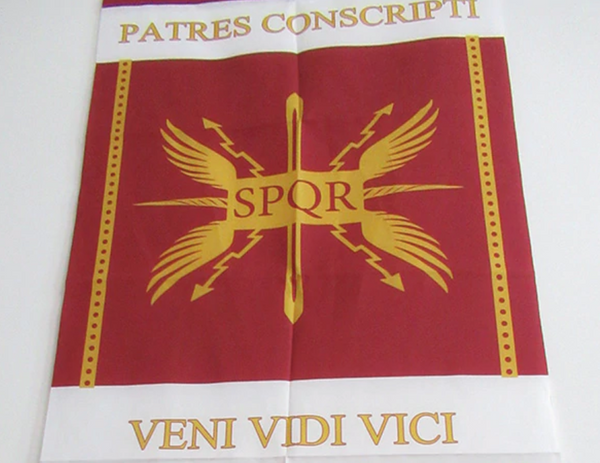 DRAPEAU ROME ANTIQUE - Medieval Fantasy