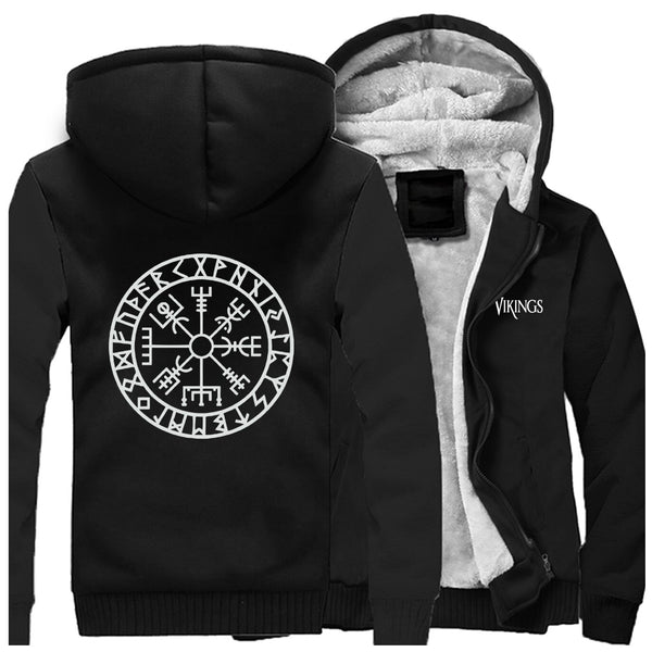 SWEAT POLAIRE <br> VEGVISIR - Medieval Fantasy